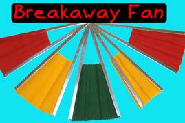 Breakaway Fan : Clown Magic : Magic Shop Australia