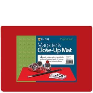 Red Close Up Mat : Magician's Supplies : Magic Shop Australia