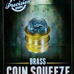 Brass Coin Squeeze Illusion : Magic Trick : Magic Shop Australia