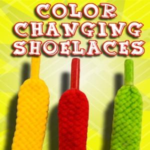 Colour Changing Shoelaces : CLOWN SUPPLIES : JOKE SHOP AUSTRALIA