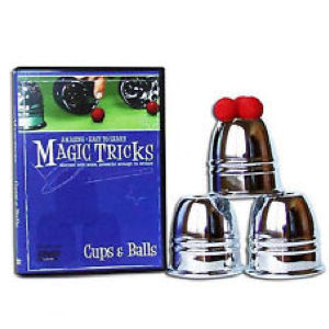 Cups & Balls Magic Tricks DVD : MAGIC SHOP AUSTRALIA