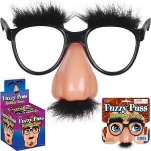 Fuzzy Nose & Glasses : Joke & Novelty Shop : Joke Shop Australia : Magic Shop Australia