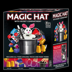 Magic Hat Set with secret compartment : Childrens Magic Sets : Magic Shop Australia