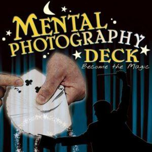 Mental Photography Deck : Magician Trick Card : Magic Shop Australia