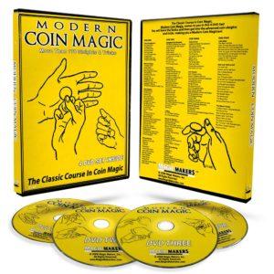 Modern Coin Magic : Magic DVD : Coin Magic : Magic Shop Australia