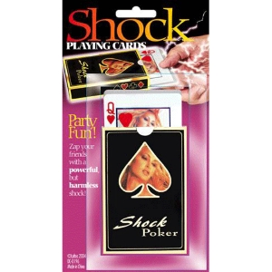 Shock Playing Cards : JOKE SHOP AUSTRALIA