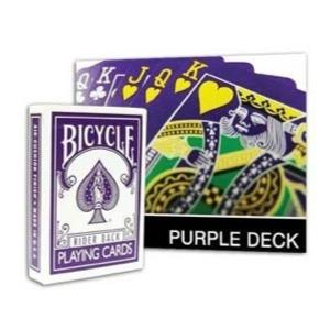 Bicycle Purple Deck : MAGIC SHOP AUSTRALIA