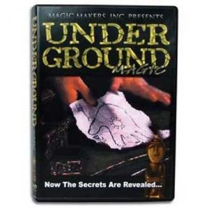 Underground Magic DVD : MAGIC SHOP AUSTRALIA