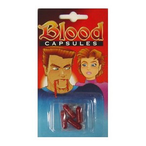 Fake Blood Capsules : JOKE SHOP AUSTRALIA