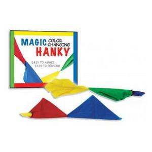 Magic Colour Changing Hanky : MAGIC SHOP AUSTRALIA
