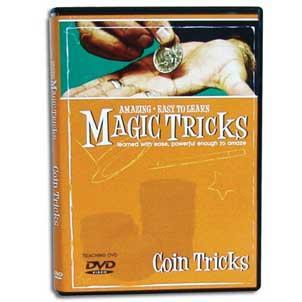 Coin Tricks Magic Tricks DVD : MAGIC SHOP AUSTRALIA