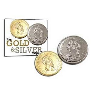 Gold and Silver Magic Coins : MAGIC SHOP AUSTRALIA