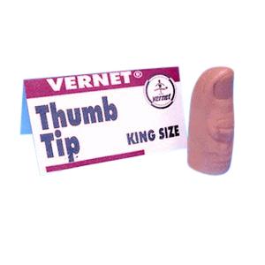 Thumb Tip King Size : MAGIC SHOP AUSTRALIA