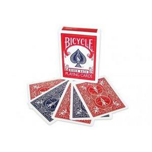 Bicycle Cards Red Blue Backs Deck : MAGIC SHOP AUSTRALIA