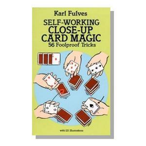 Self Working Close Up Card Magic Book : MAGIC SHOP AUSTRALIA