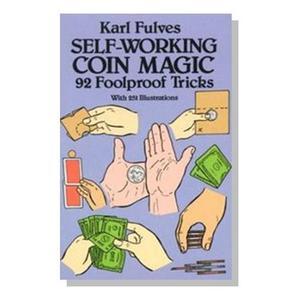 Self Working Coin Magic Book : MAGIC SHOP AUSTRALIA