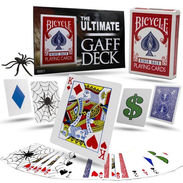 The Ultimate Gaff Deck : Magician's Card Tricks : Card Tricks : Magic Shop Australia