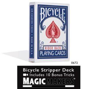 Stripper Deck - Bicycle Blue : MAGIC SHOP AUSTRALIA