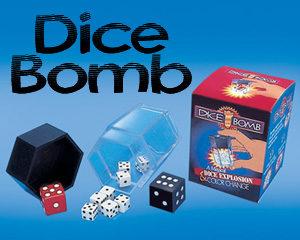 Dice Bomb Trick, magic dice : MAGIC SHOP AUSTRALIA