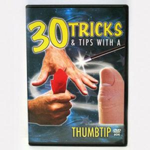 30 Amazing Thumb Tips Tricks DVD : Magic Supplies : Magic Shop Australia