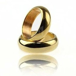 Magician's PK Ring, Gold 21 mm : Magician's Supplies : Magic Shop Australia