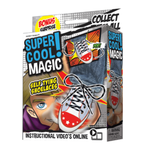 Self Tying Shoelaces : Kids Magic : Magic Shop Australia