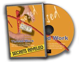 Invisible Thread DVD Secrets : Magic Supplies : Magic DVD : Magic Shop Australia