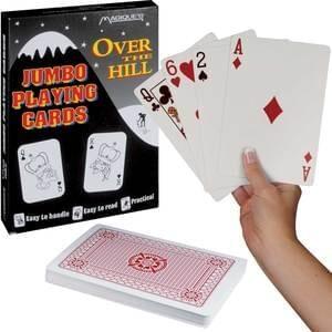 Jumbo Playing Cards : Joke Shop Australia : Novelty Cards : Joke Shop Australia : Magic Shop Australia