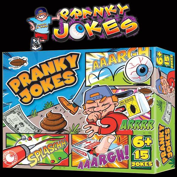 Pranky Jokes, Small : Prank Novelty : Joke Shop Australia : Magic Shop Australia