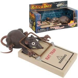 Rat In A Trap : Novelty Prank Toy : Joke Shop Australia : Magic Shop Australia